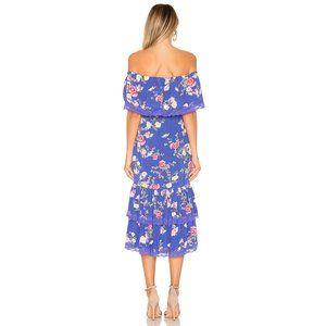 Lovers + Friends Dresses - Lovers + Friends Elouise Dress Floral Lace Midi
